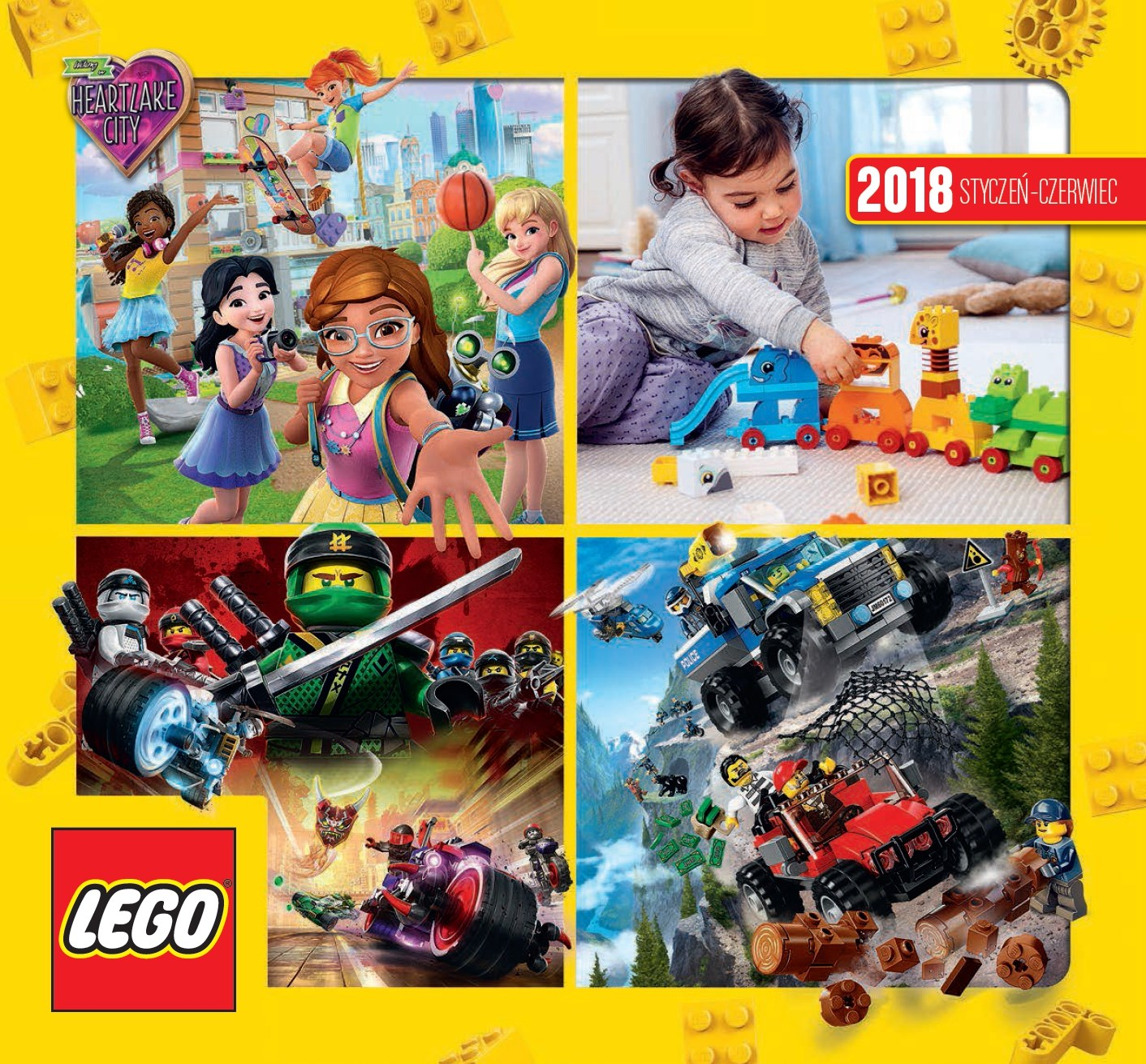 Lego Katalog 2018 Styczeń Czerwiec Nowy Pl 7115193619 Oficjalne