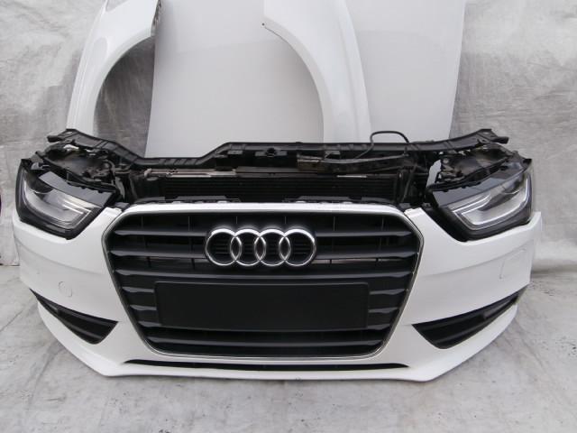 Zderzak Przedni Audi A4 B8 Lift Bialy Ly9c Kpl 7324363104