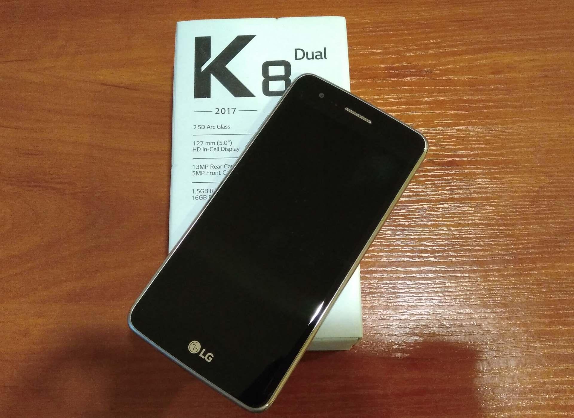 OKAZJA! LG K8 LTE 2017 GW15m!