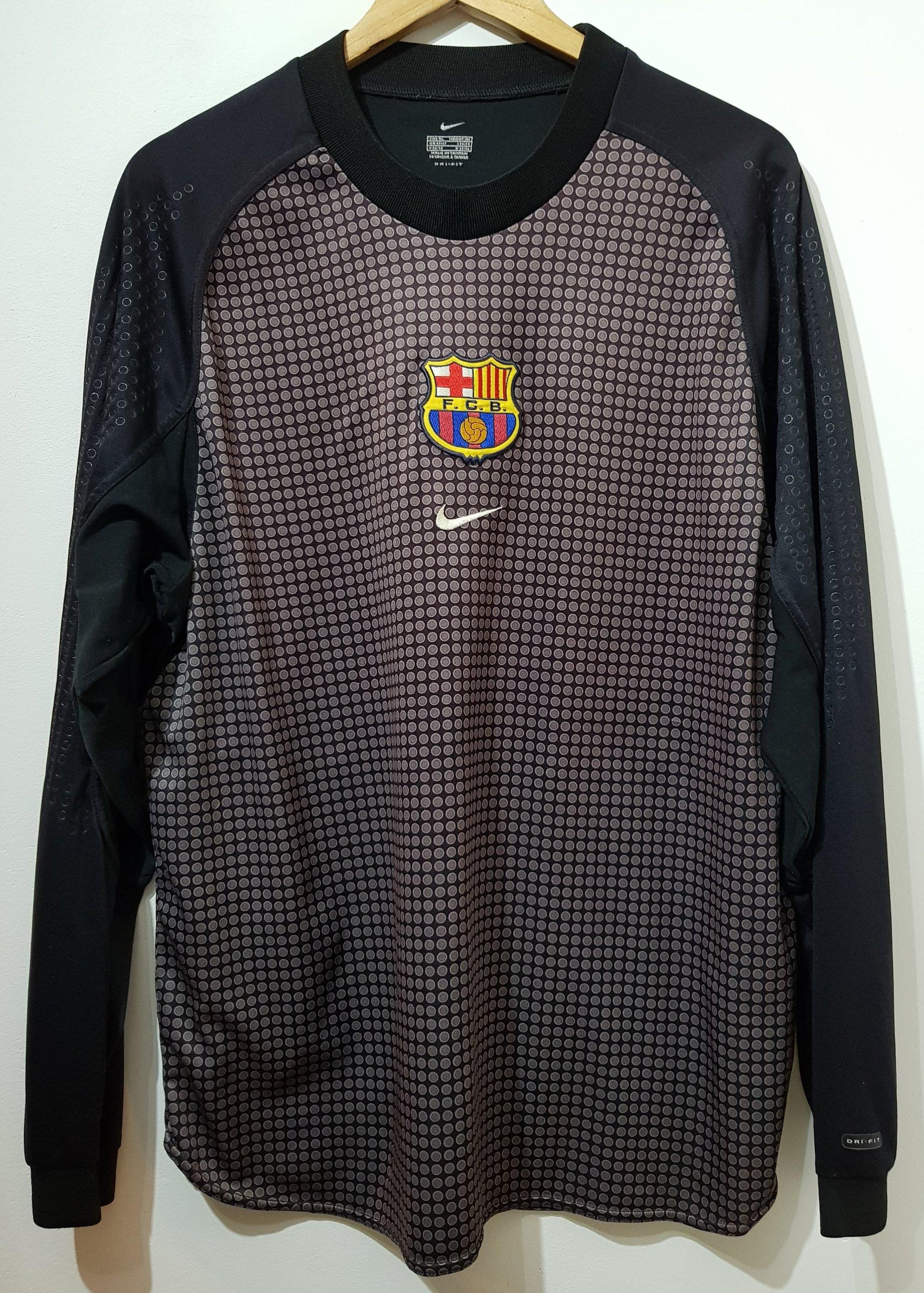 c6dea0bdd Koszulka Retro FC Barcelona bramkarska - 7290237221 - oficjalne ...