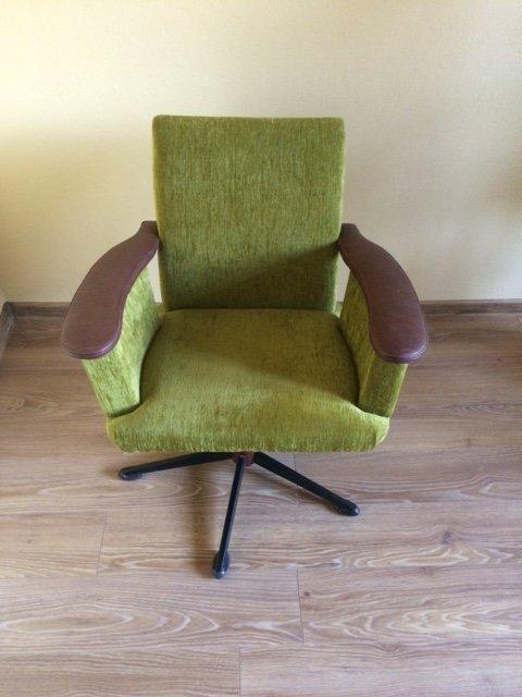 Fotel Obrotowy Vintage Loft Prl Lata 60 70 7183713458