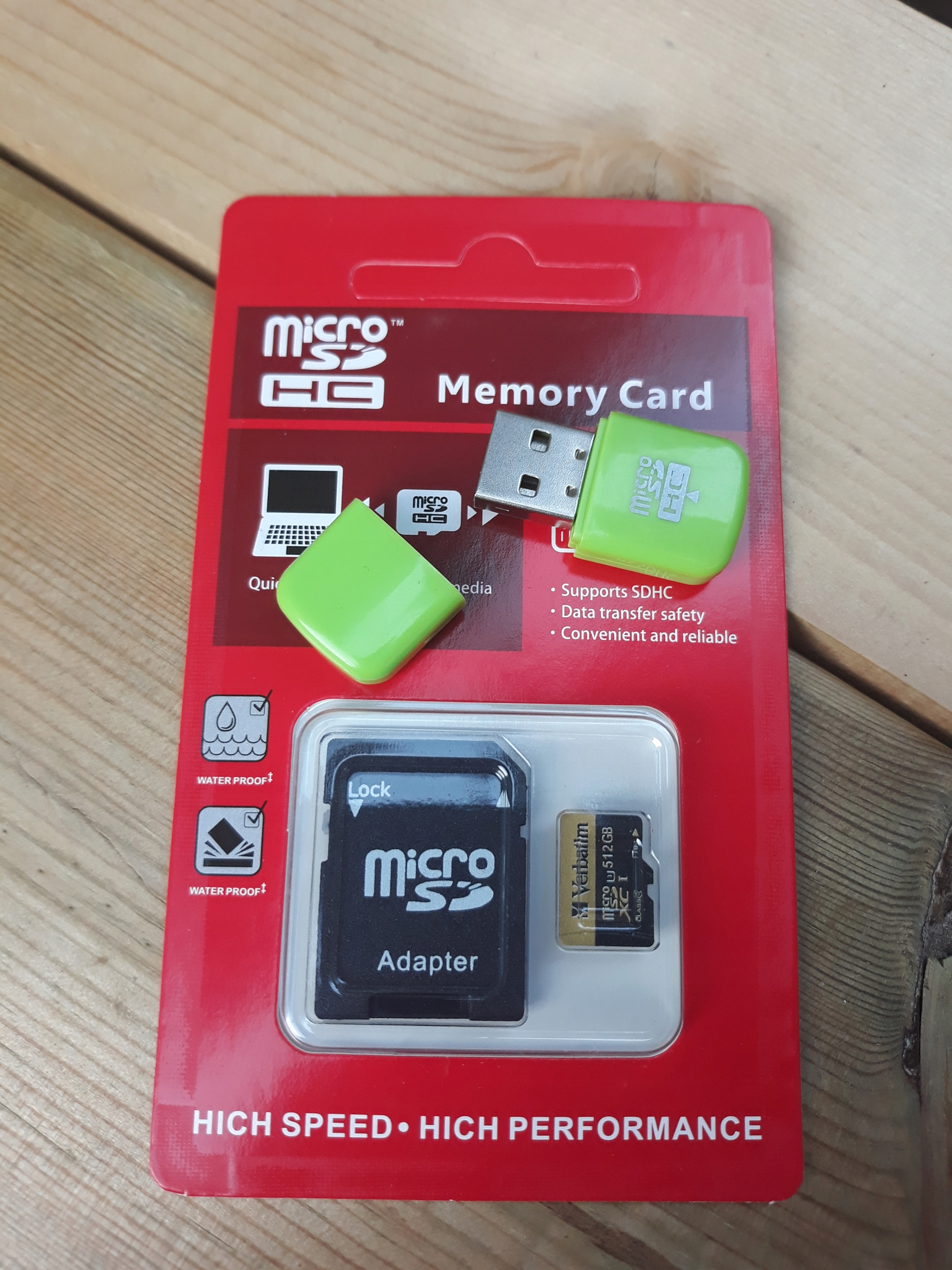 Karta micro sd verbatim 512gb + gratis - 7626174904 - oficjalne