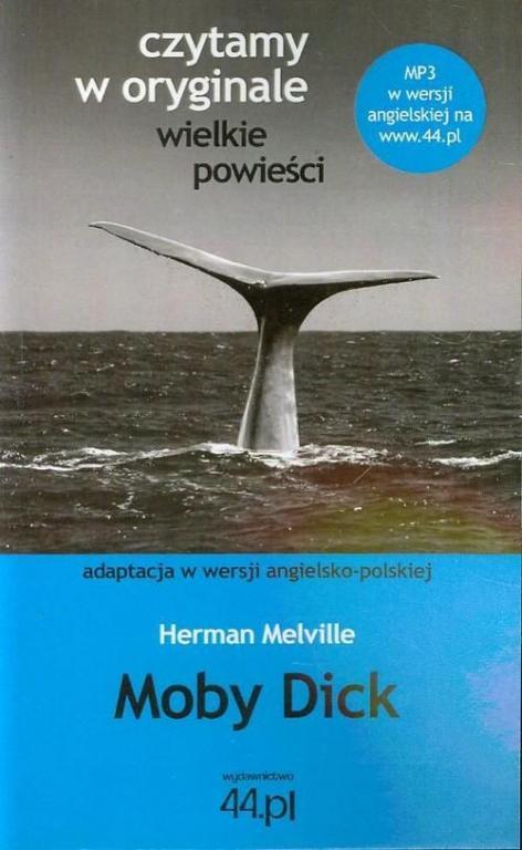 Melville MOBY DICK Po angielsku oryginał 44.pl