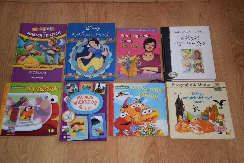 Zestaw Książek Dla Dzieci Bajki Piosenki Wiersze
