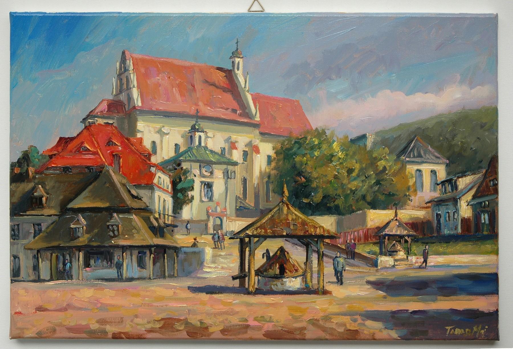 Inne rodzaje obraz olejny Kazimierz dolny 60x40 Tomasz Maj - 7420902836 AR29