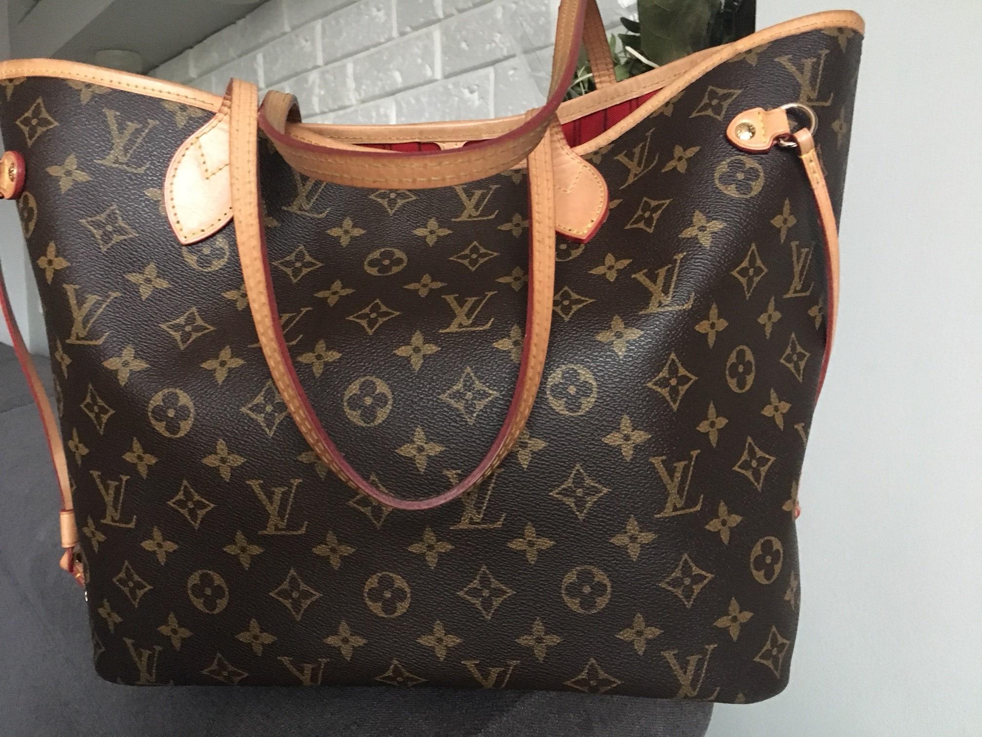 3ffc27f834a6a Louis Vuitton Neverfull MM Monogram + kopertówka - 7177649769 ...