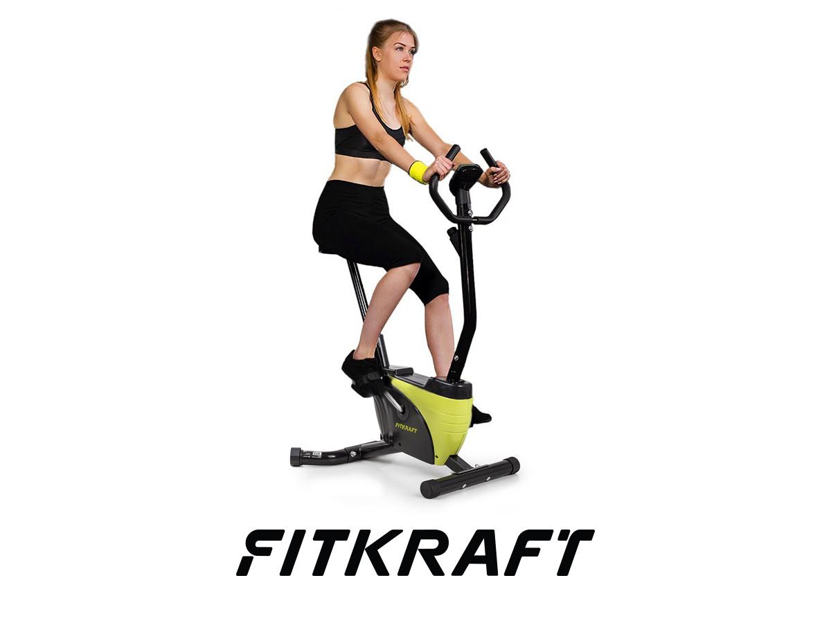 Rower treningowy stacjonarny ALFA FITKRAFT -OUTLET
