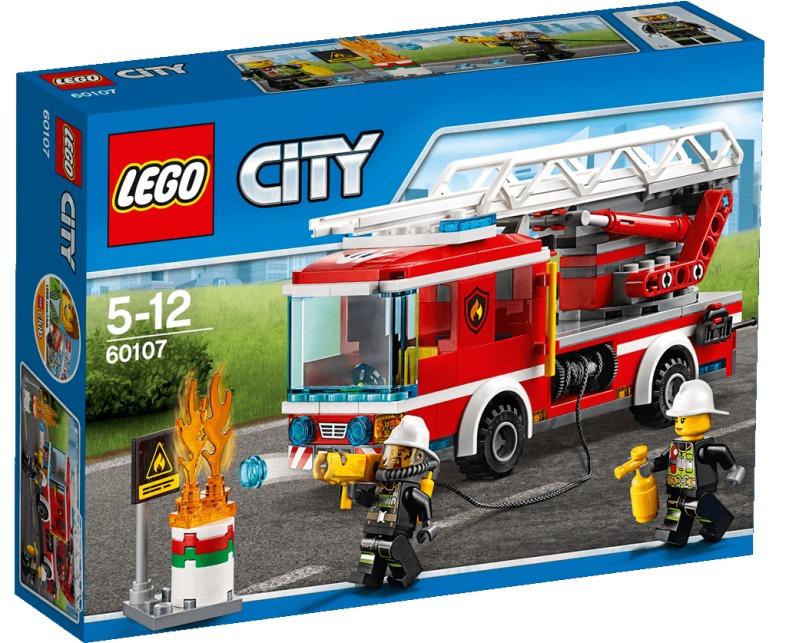 Lego City 60107 Wóz Strażacki Straż Pożarna 7088558462 Oficjalne