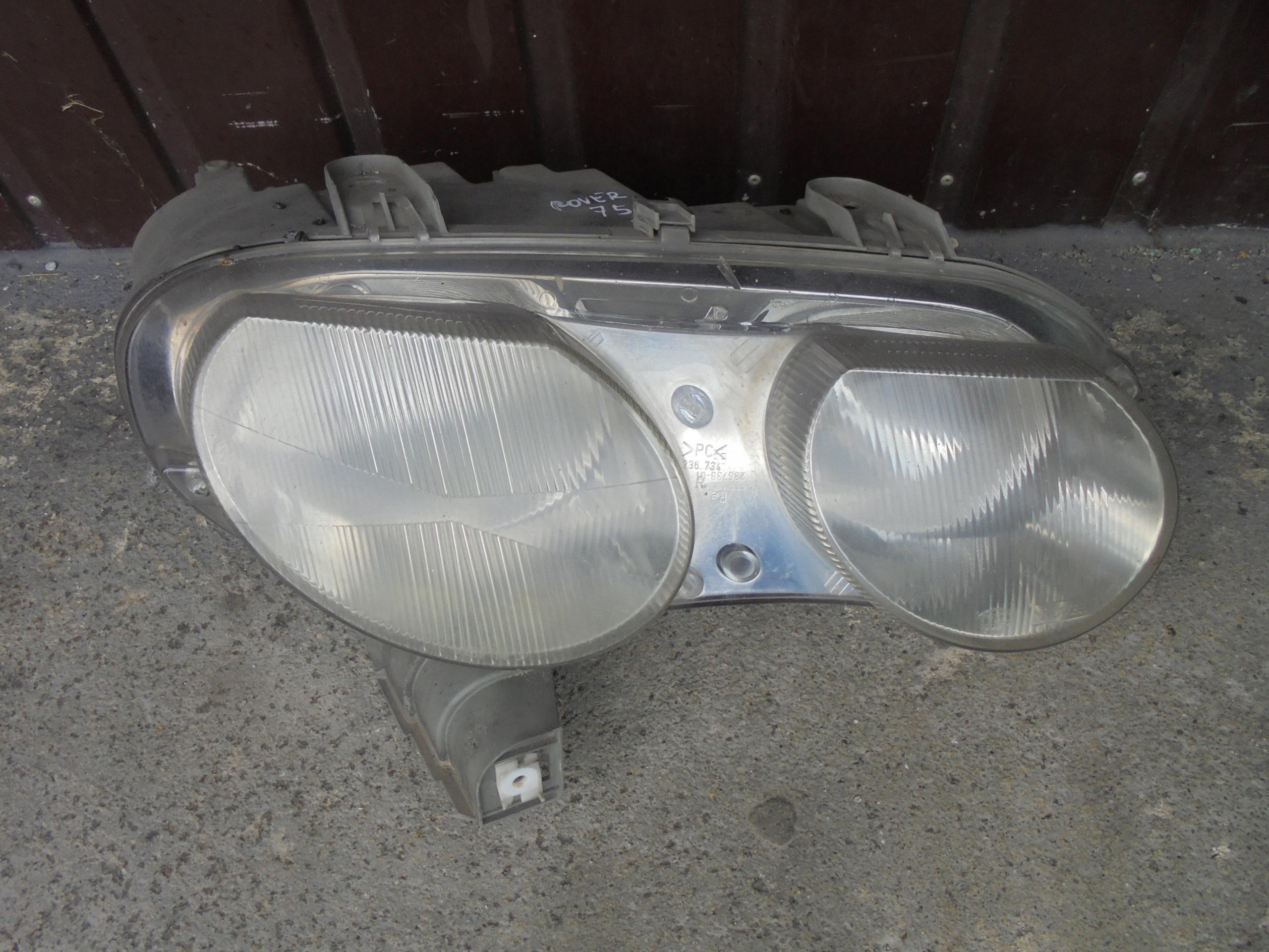 Lampa Prawa Przednia Przód Rover 75 7585162545 Oficjalne