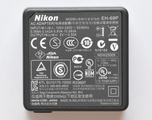 Pôvodný Nikon EH-69P Napájací zdroj F-RA DPH
