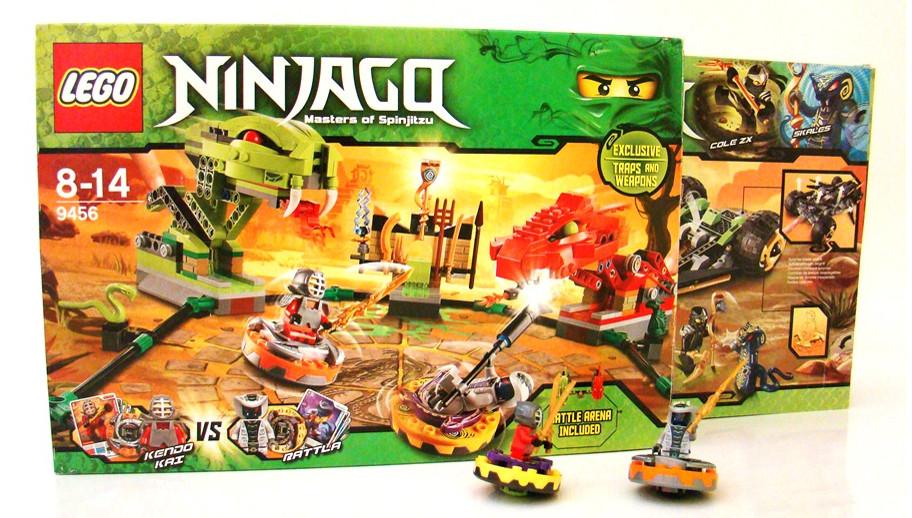 Lego Ninjago Klocki Dla Małych Wojowników Allegropl