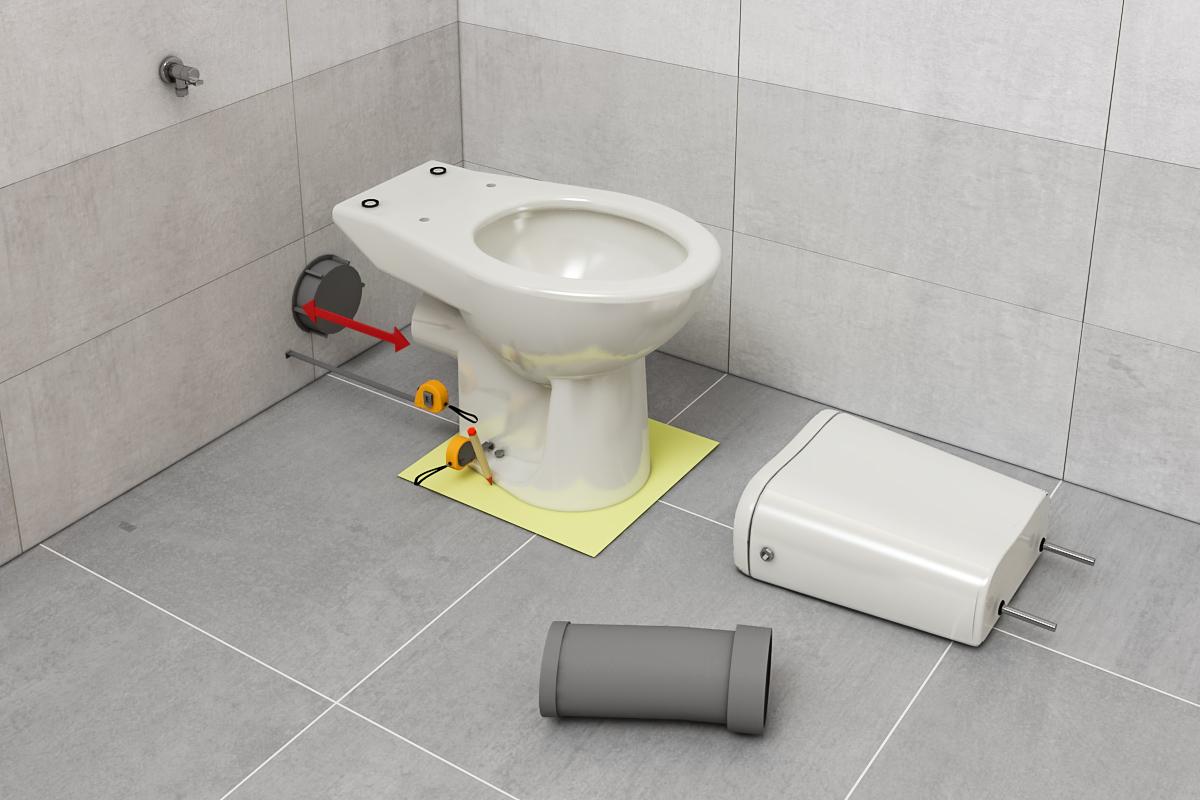 assembly WC kompaktné 1