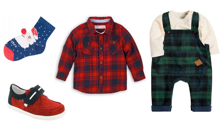 Bordo i zieleń – eleganckie ubrania dla dzieci w świątecznej kolorystyce