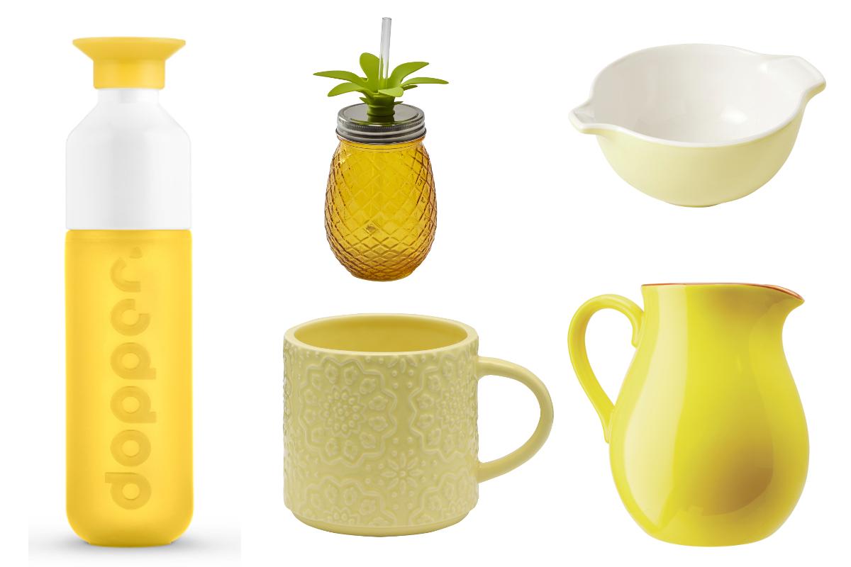 Kuchnia Pełna Słońca Postaw Na żółte Dodatki Allegropl