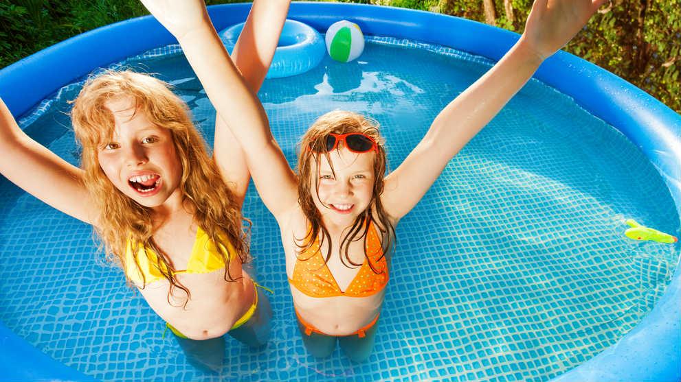 Bazény pre staršie dieťa - 5 návrhov na veľkú záhradu