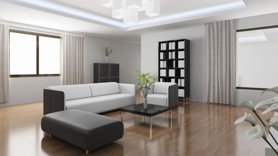 Podłoga W Salonie Płytki Panele Czy Deski Podłogowe Allegropl