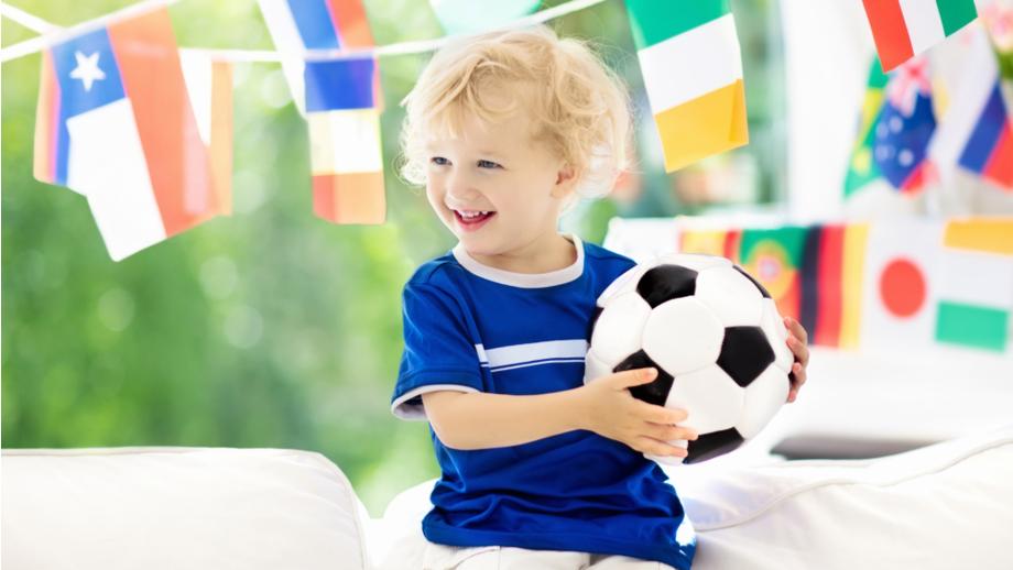 Piłkarskie stylizacje dla chłopca na mistrzostwa świata