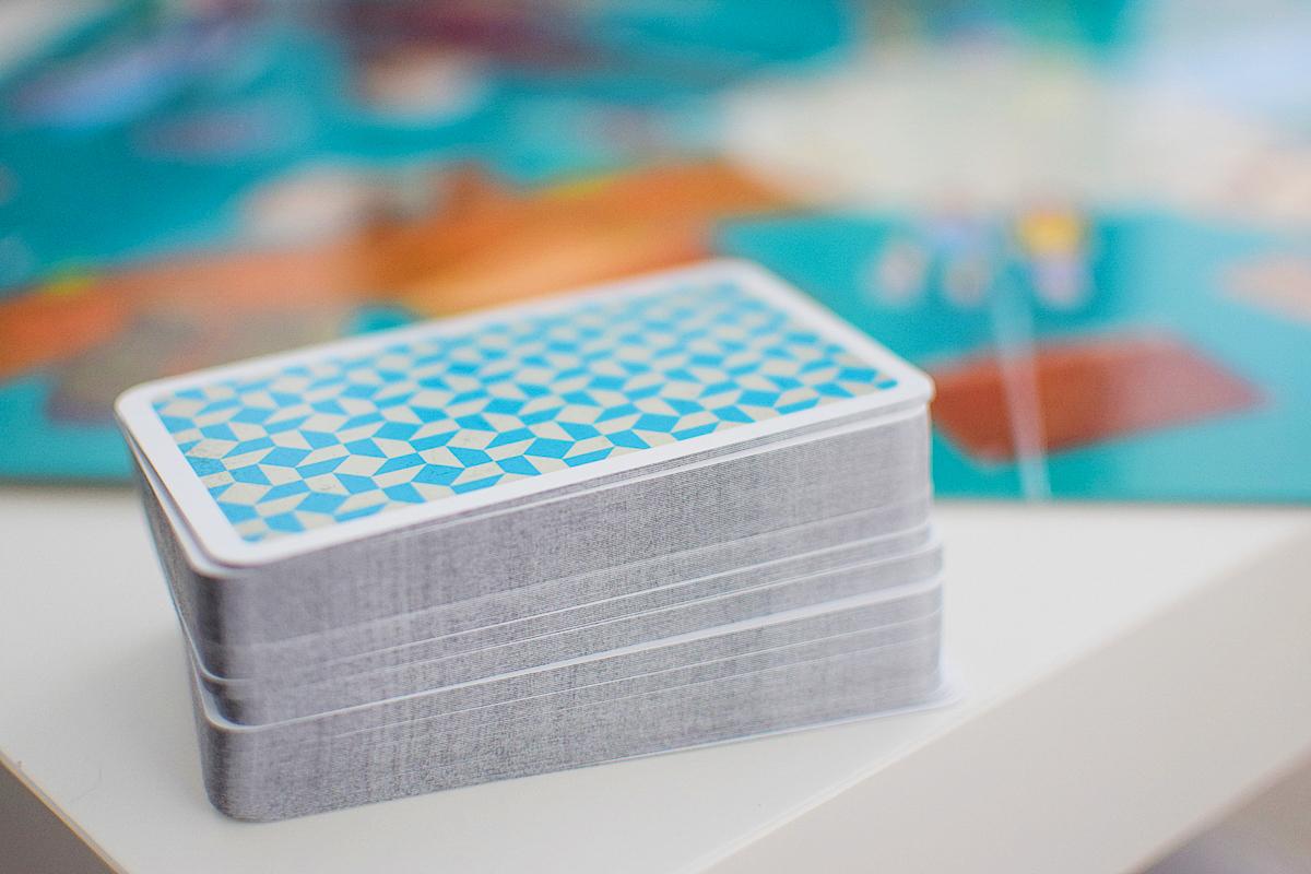 Fotografie 5 kariet s obrázkami