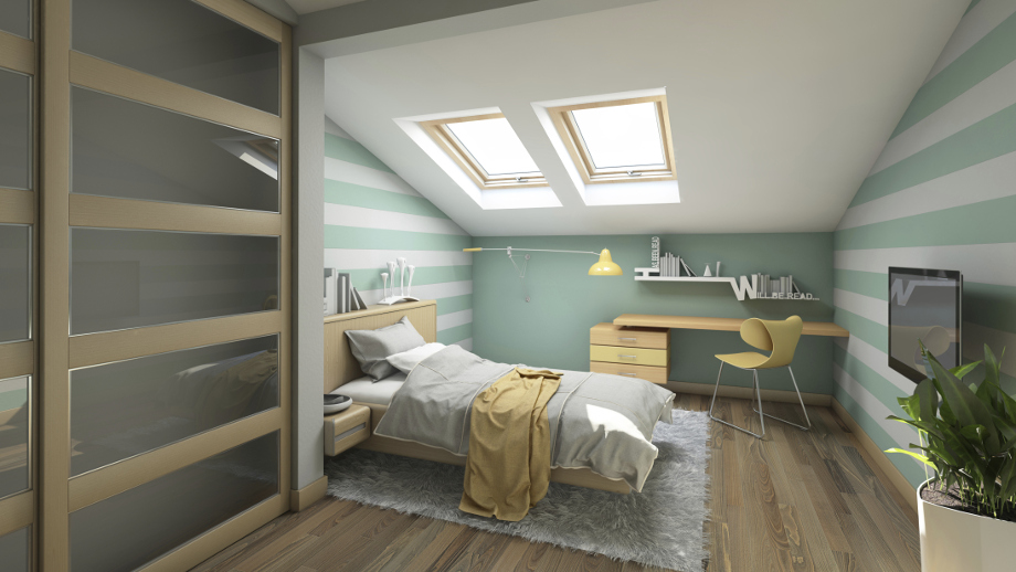 Jak Urządzić Sypialnię Na Poddaszu Allegropl