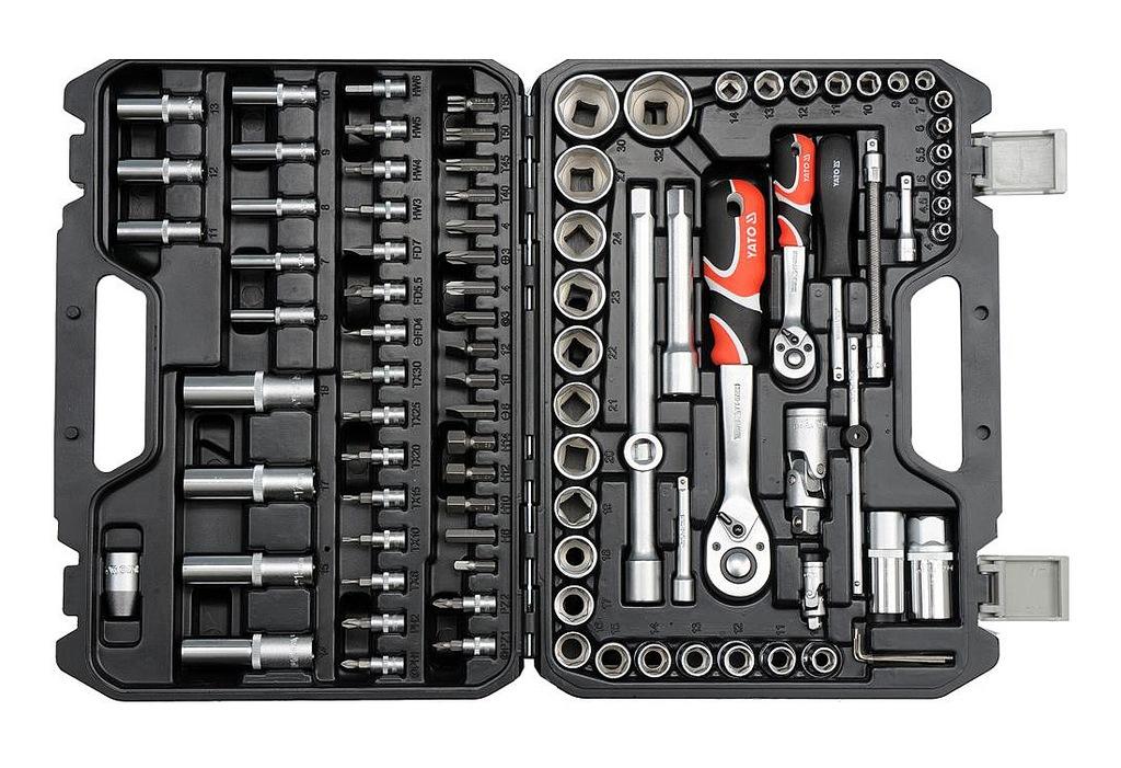 Komplet kluczy ręcznych YATO YATO YT-12681
