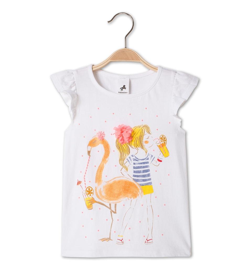 T-shirt C&A Palomino z dziewczynką 122