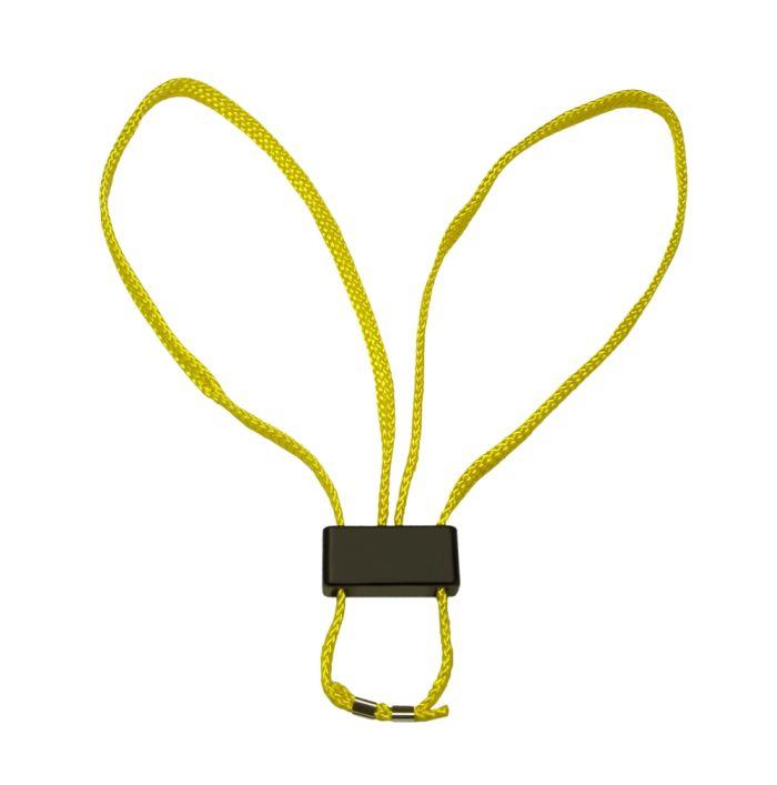 ESP - Kajdanki Tekstylne - Żółty - HT-01-Y