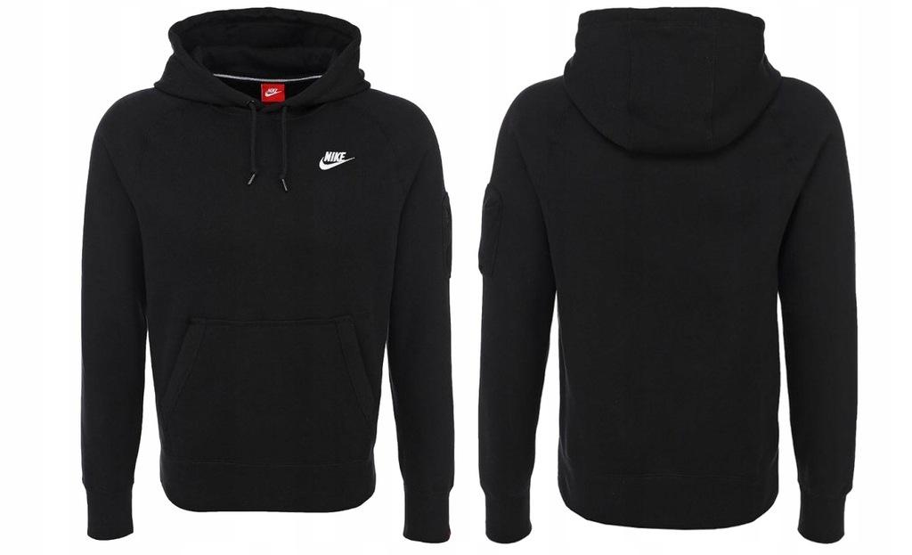 Bluza Nike męska bawełniana z kapturem 598707