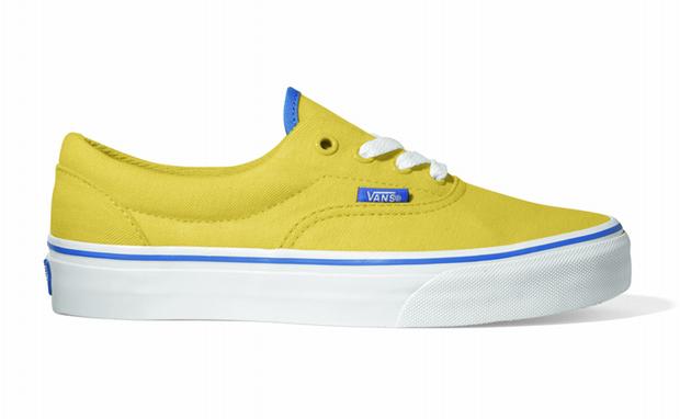 Męskie Obuwie Vans Era Sneakersy Niskie Yellow