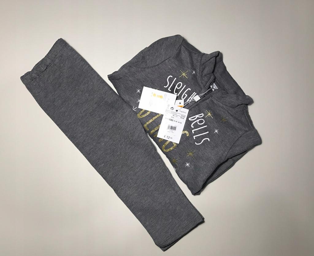 Nowy dres OVS Baby 18-24mcy 86cm dziewczynka