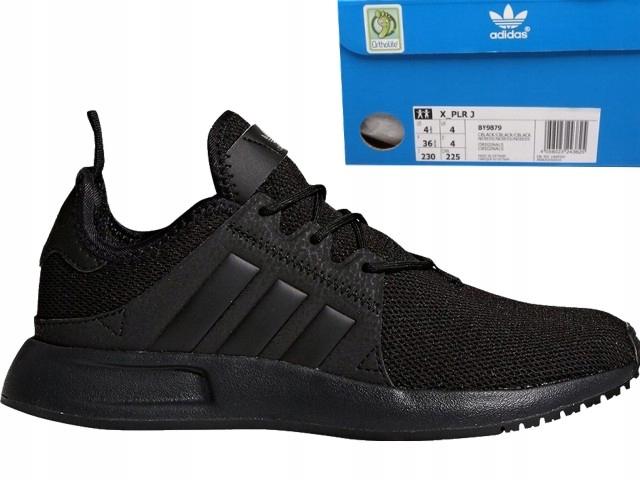 Buty adidas X_PLR J czarne młodzieżowe [BY9879