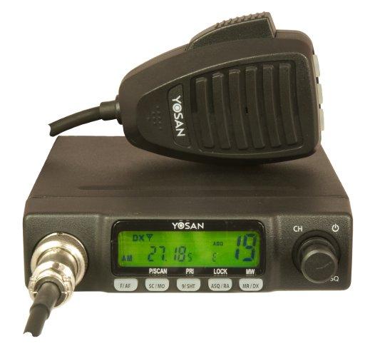 CB Radio Yosan CB 300 AM/FM,ASQ,DX Local,LCD F.VAT