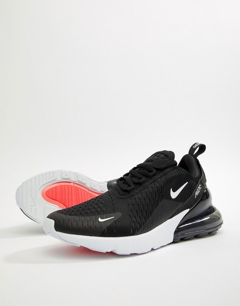 Buty sportowe Nike Air Max 270 Wszystko Czarny R45 Ceny i