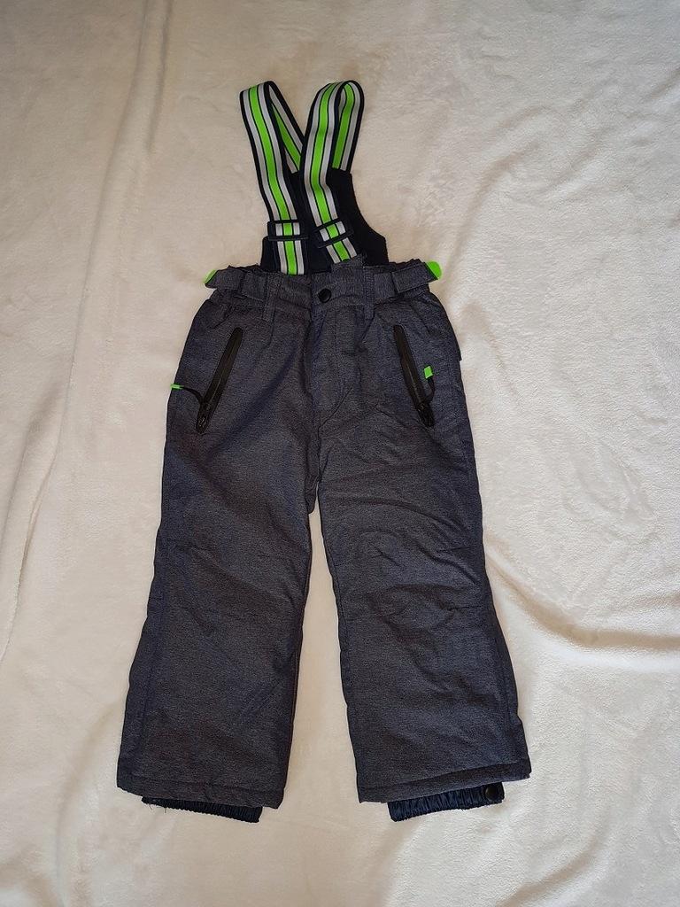 cool club smyk spodnie ocieplane narciarskie 92 7584563673