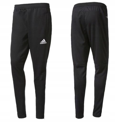 giro Tesauro Artista  Adidas L XL tiro 17 spodnie dresy czarne 15 16 - 7619551848 - oficjalne  archiwum Allegro