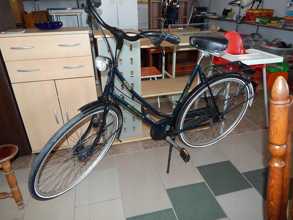 Rower Damka Gazelle 7501317729 Oficjalne Archiwum Allegro