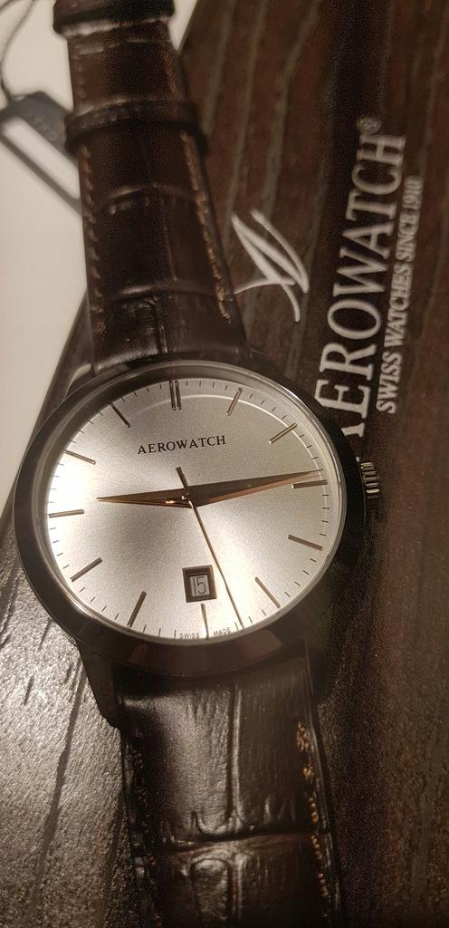 Elegancki zegarek Aerowatch