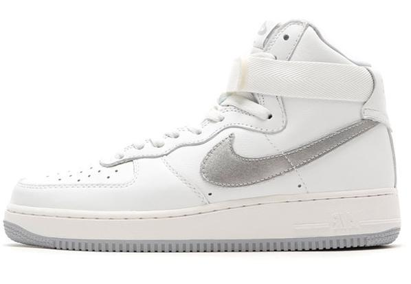 Air Force 1 High Top Sneakersy ze skóry model 'Air Force 1'