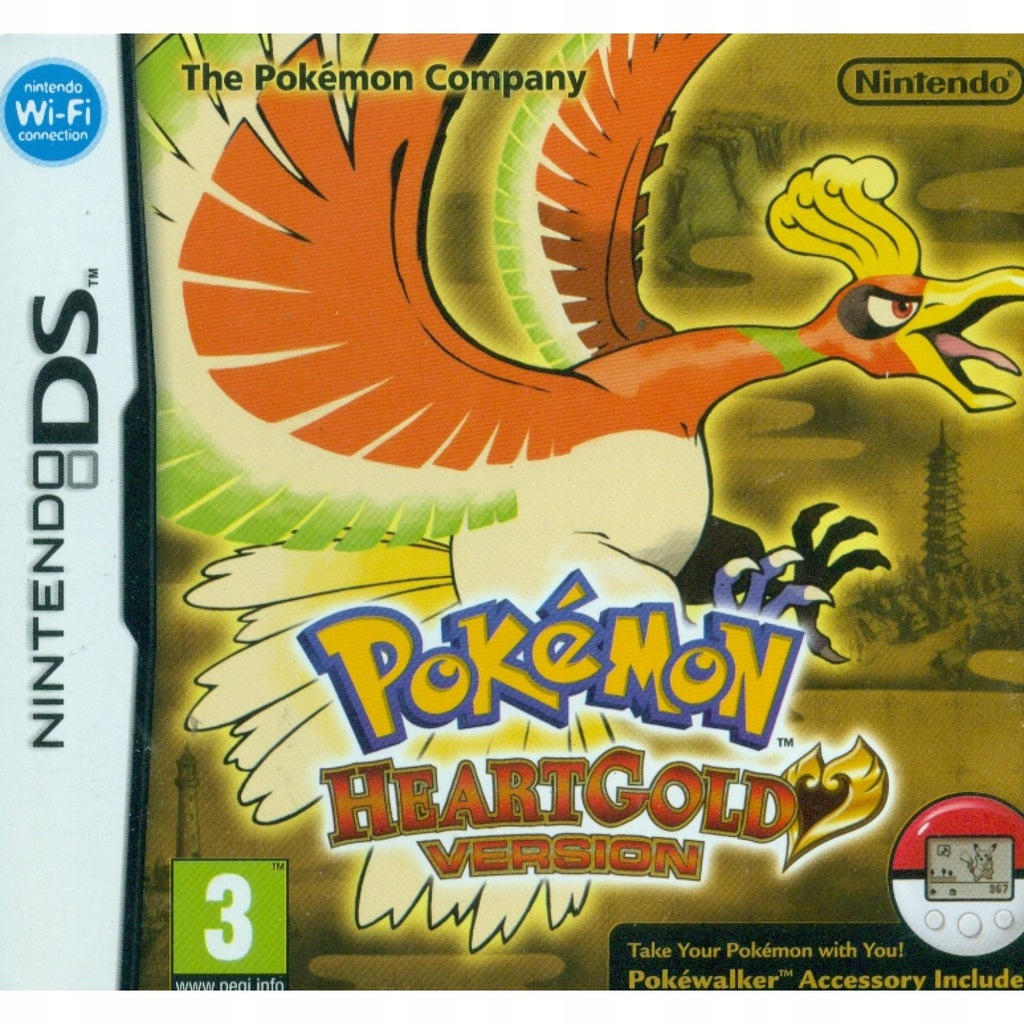 Pokemon HeartGold DS DS/3DS -