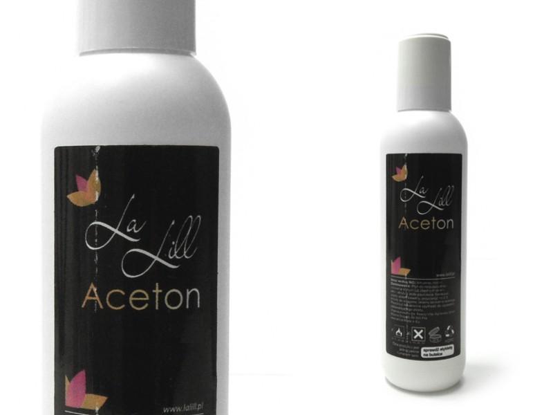 axns Aceton kosmetyczny usuwa hybrydy akryl 1000ml