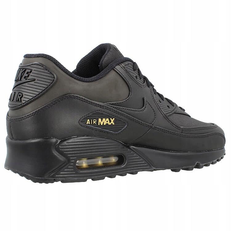 Buty Nike Air Max 90 Czarne Złote 700155 011