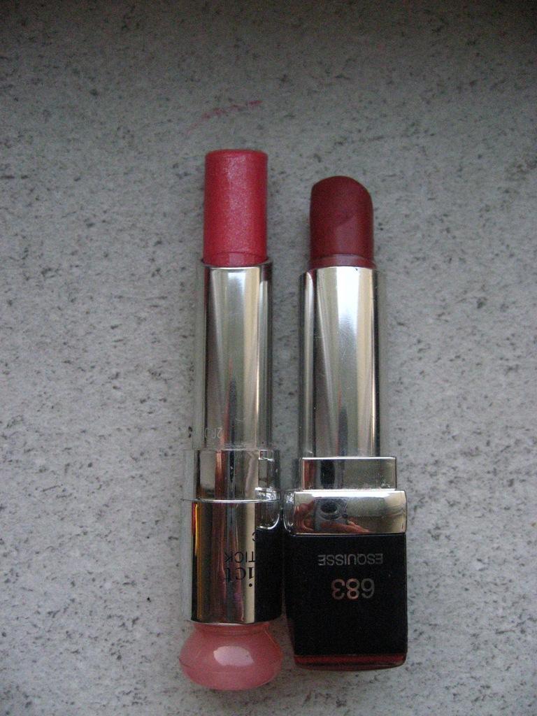 Pomadka Dior 454 + Dior 683 - zestaw