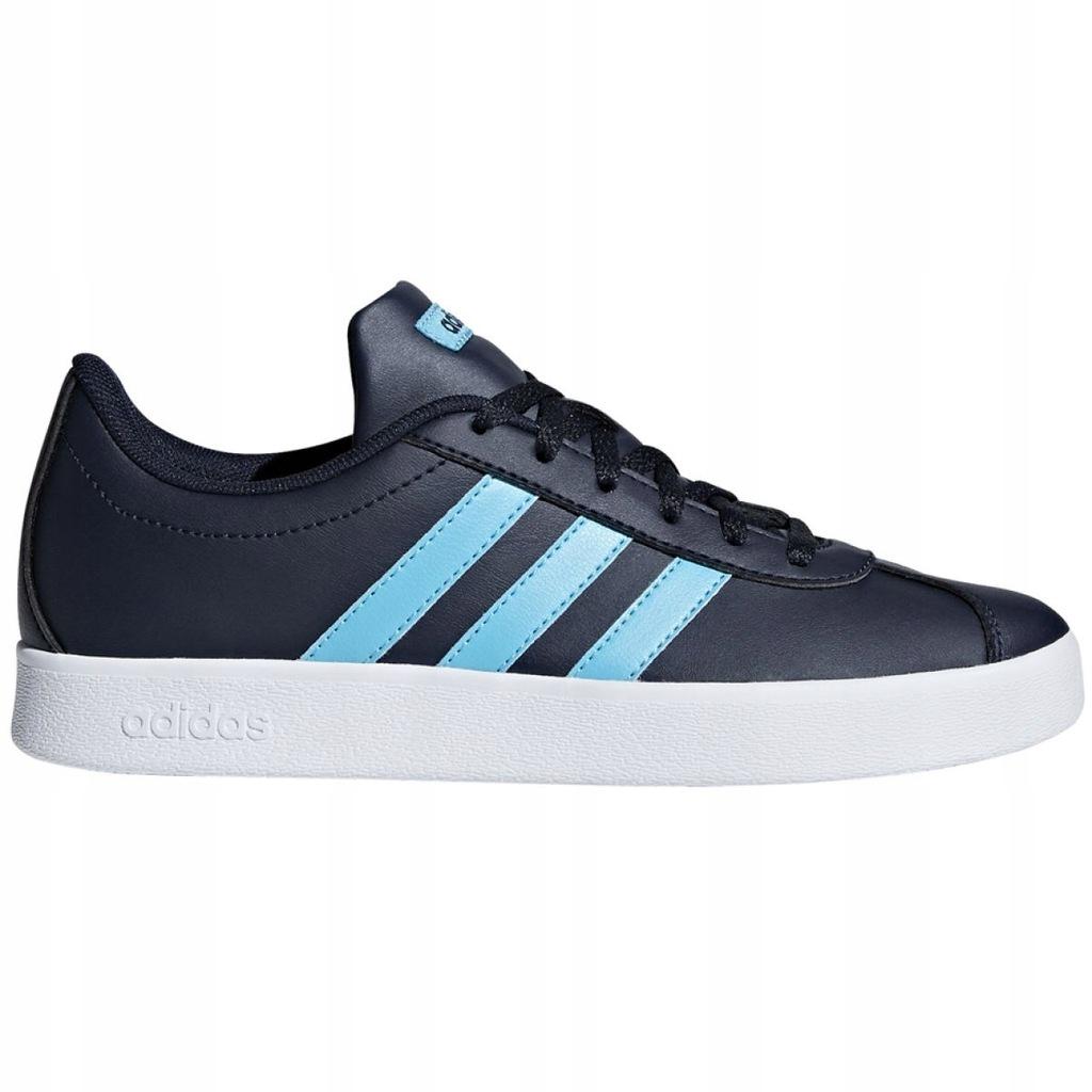 Buty dla dzieci adidas VL Court 2.0 K różowe DB1517