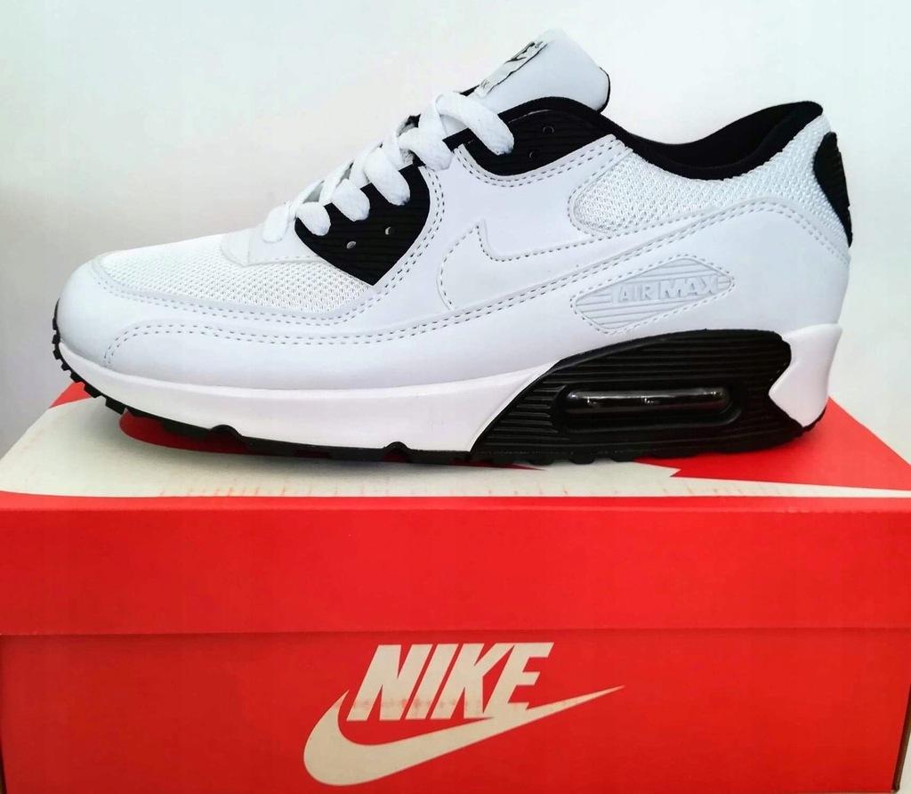 Nike Air Max 90 White Black Rozmiary Outlet 7498118267