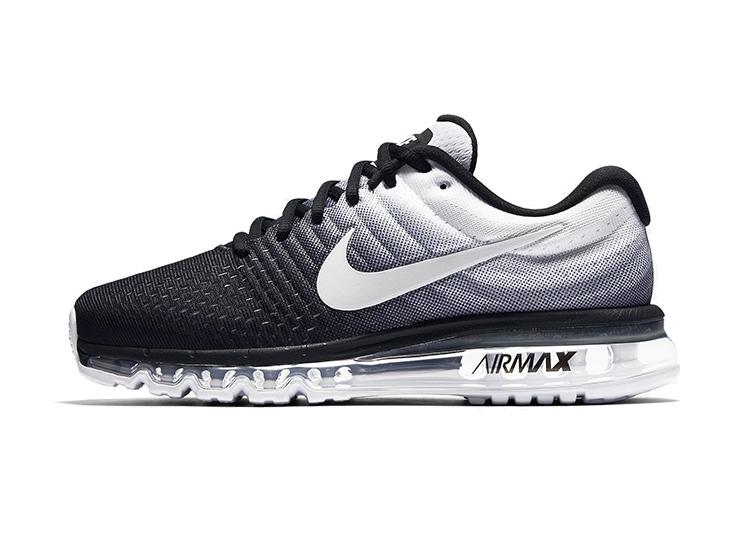 849559 010 Nike Air Max 2017 męskie czarne biał 43