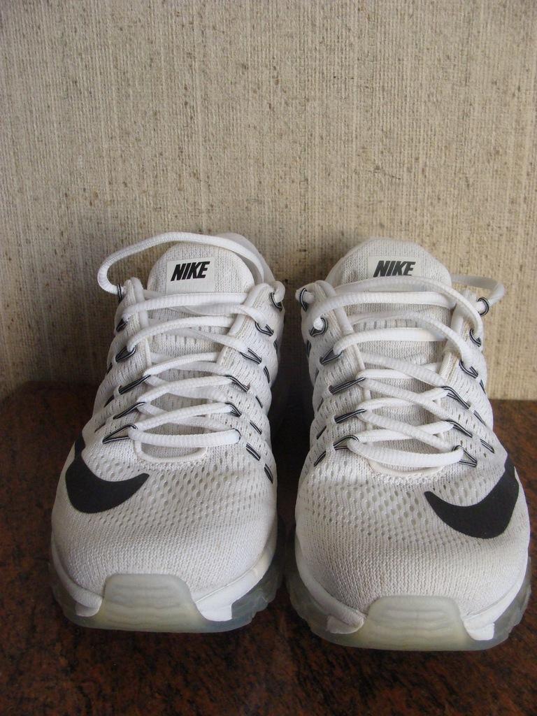 Tanie Damskie Buty Nike Air Max 2016 Buty Z Siatki All White
