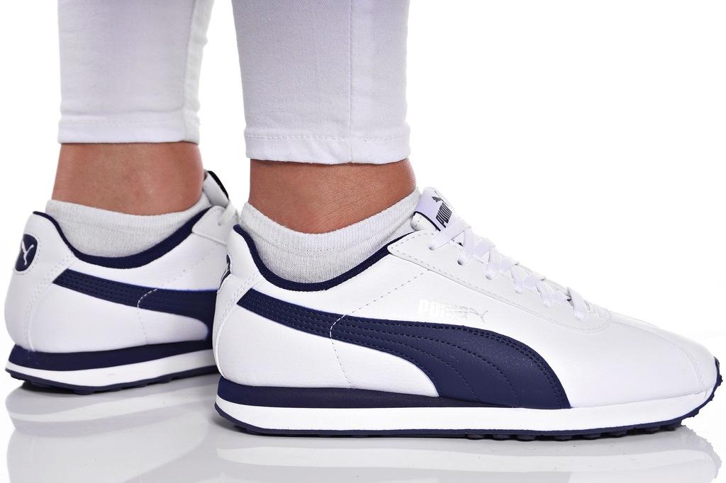 Buty puma damskie turin jr 360914 02 białe nowość! Zdjęcie
