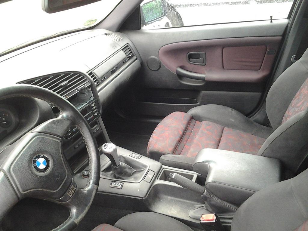 Wnętrze Fotele Kanapa Bmw E36 Touring M Pakiet 7012165604 Oficjalne Archiwum Allegro