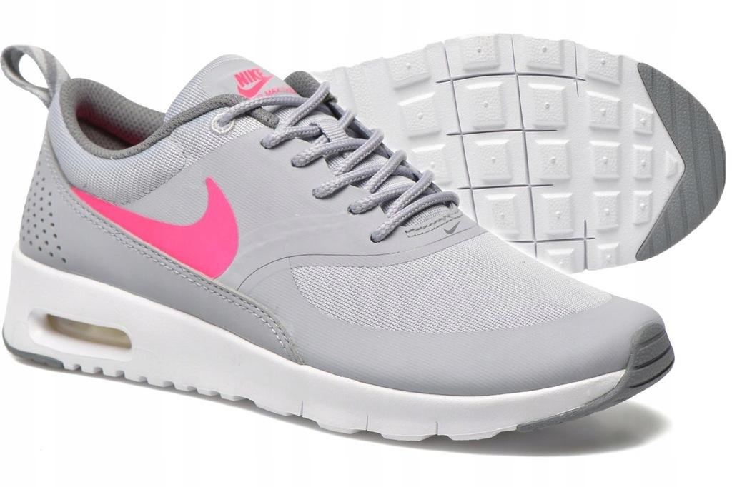 Damskie Nike WMNS Air Max Thea Ultra Różowy Szary