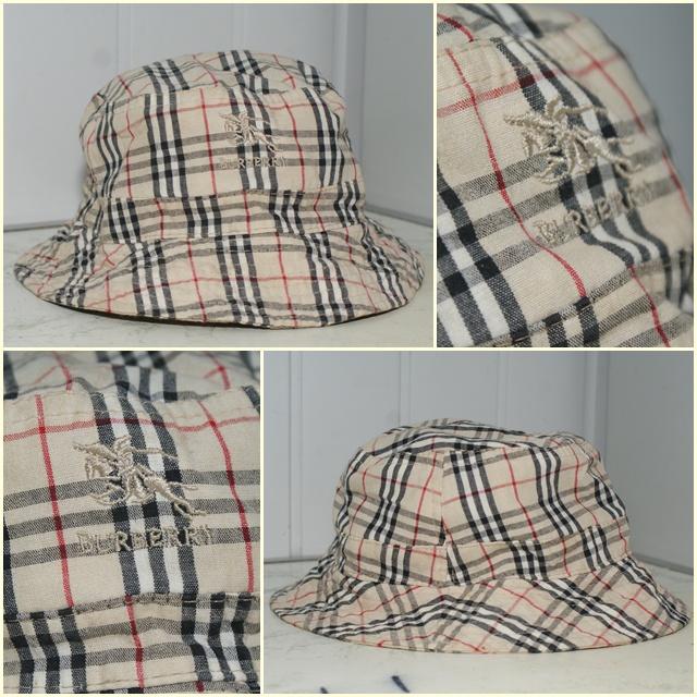BURBERRY LONDON czapka kapelusz RONDEL UNISEKS 57