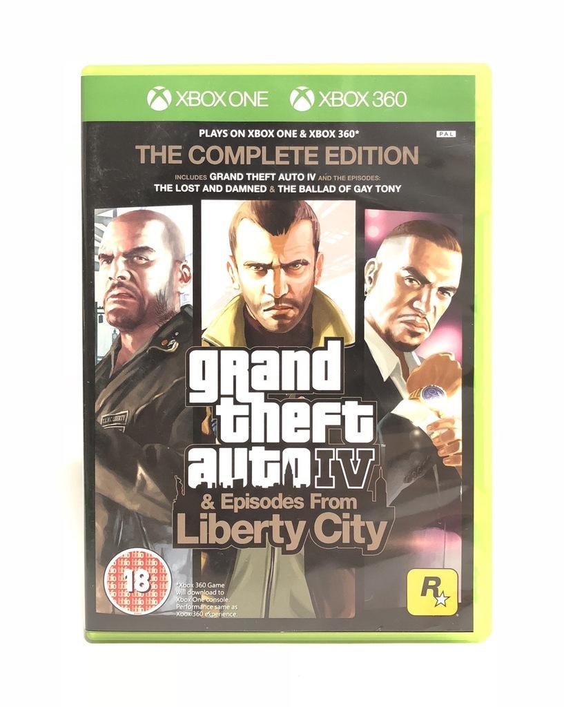 Gta Iv Episodes From Liberty City Xbox One 7387272225 Oficjalne Archiwum Allegro